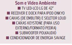 som e vídeo ambiente
